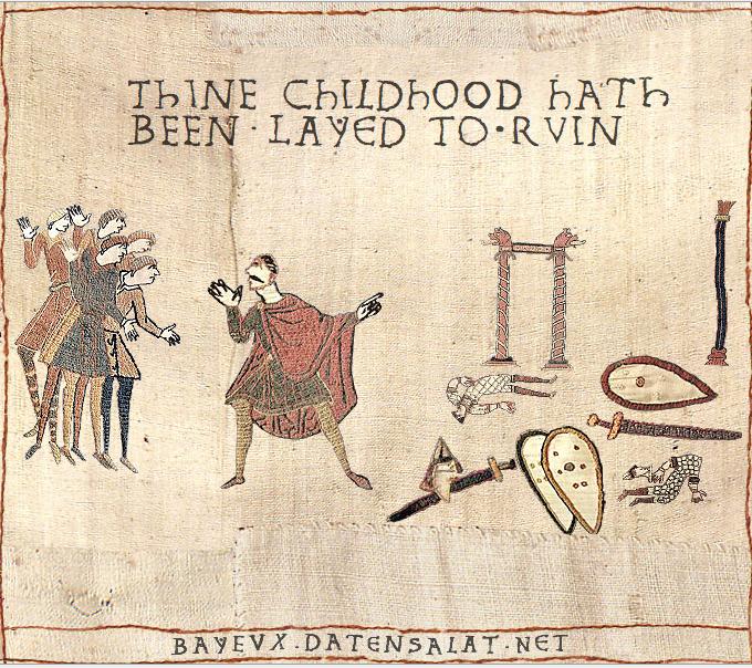 Medival ruined childhood