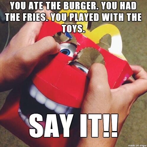 "McMountain   McDonald's ""Happy"" Mascot   Know Your Meme"