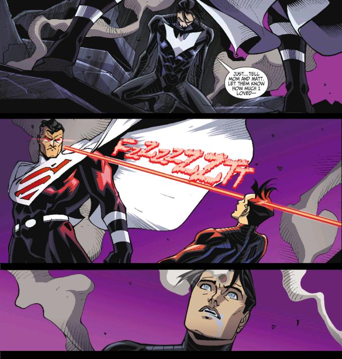 The Death of Batman Beyond