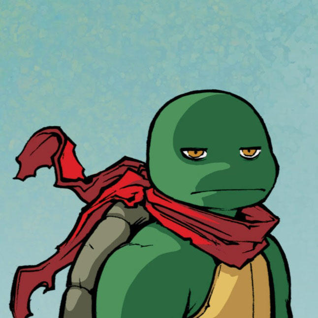 Raph is not amused