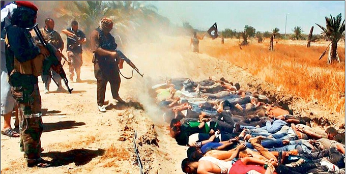 ISIS Claims to Have Slaughtered 1,700 Shia Iraqi soldiers