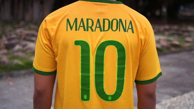 Maradona is Brazillian