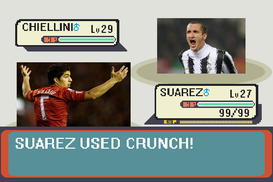 Suarez Used Crunch!