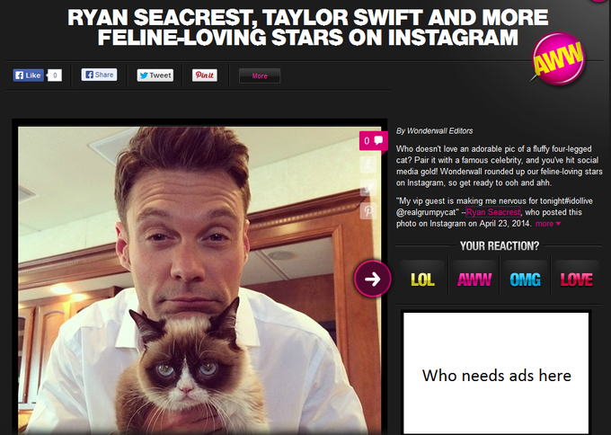 who's more famous: grumpy or ryan?