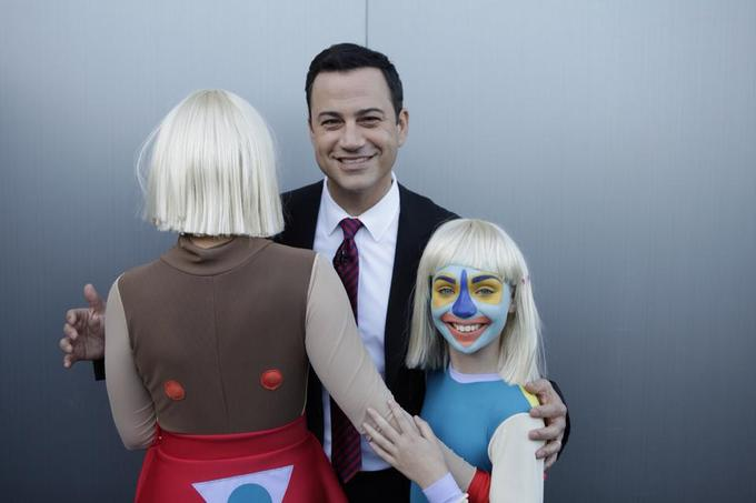 Jimmy Kimmel's Hover Hand on Sia