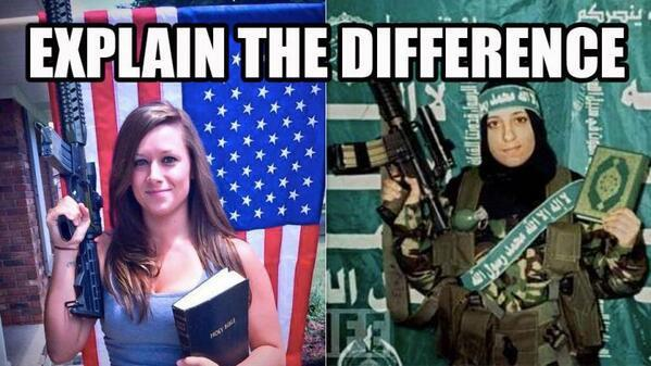 The Difference Between Jihad and America