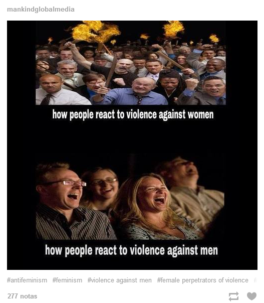 How people react to violence against...
