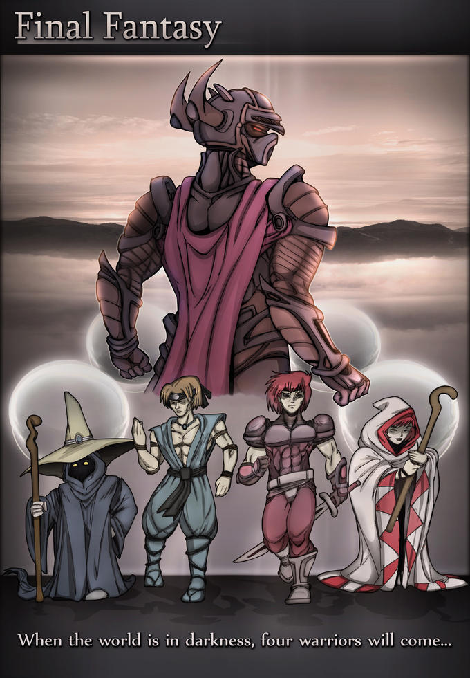 Light Warriors drawn by Chronorin