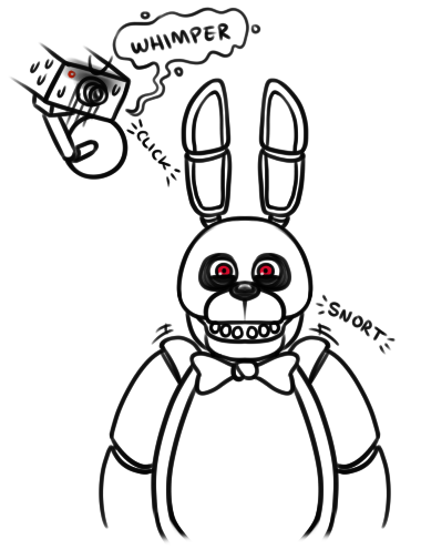 Nights of freddy colouring pages