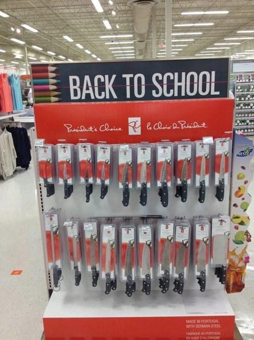 Back To School Kitchen Knives