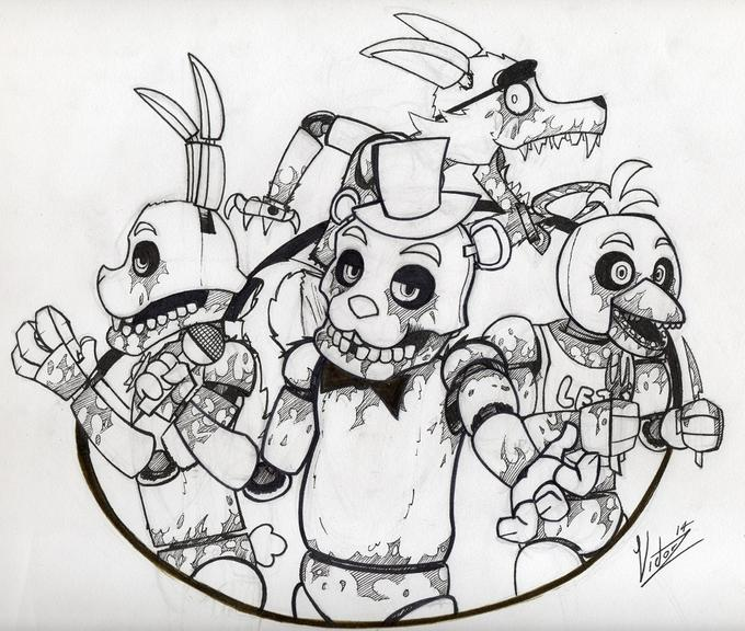 Freddy Fazbear 39 s Pizza happy family