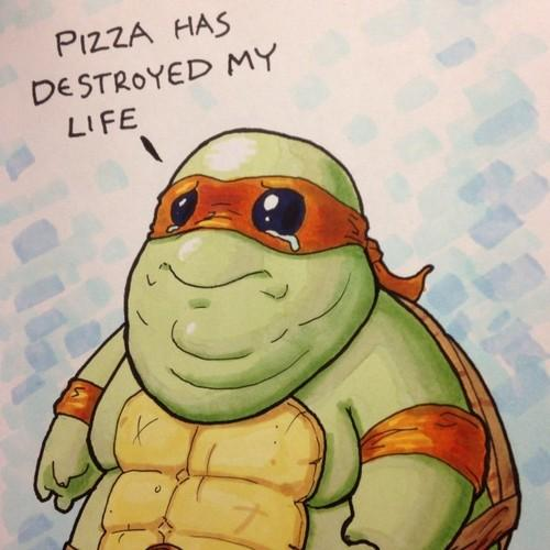 Pizza has destroyed my life Teenage