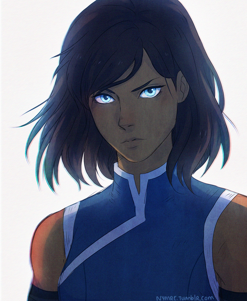 The legend of korra short hair korra is an actual canon thing