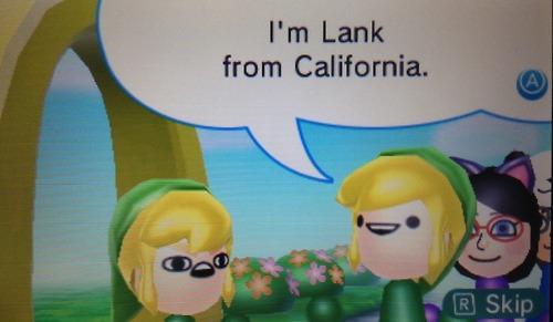 Lonk of Pennsylvania Meets Lank of California