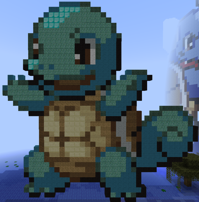 how to build pokemon stuff in minecraft