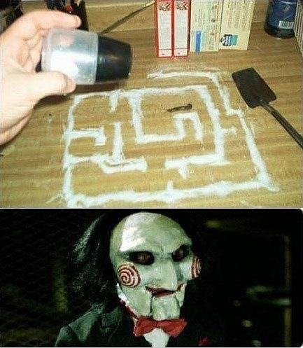 b48 i wanna play a game slug maze know your meme,Jigsaw Meme