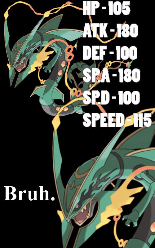 3c8 mega rayquaza stats pok�mon know your meme,Pokemon Know Your Meme