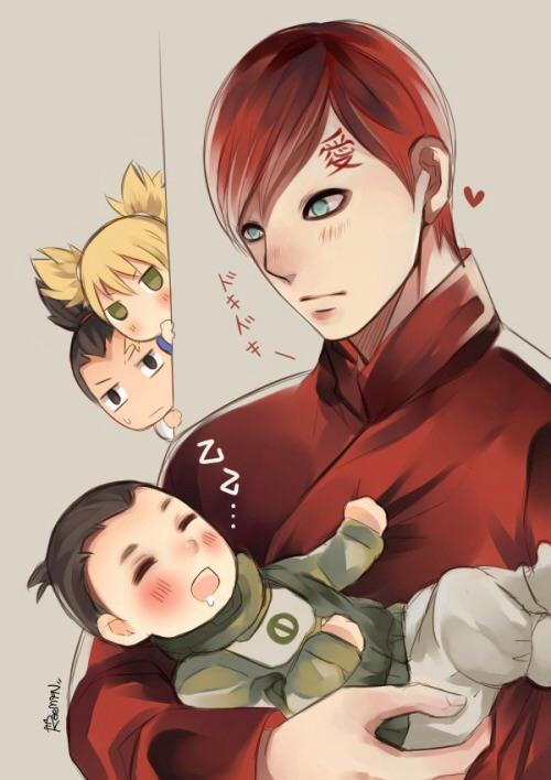 6ad uncle gaara is best naruto know your meme