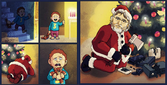 Christmas | Gabe Newell | Know Your Meme