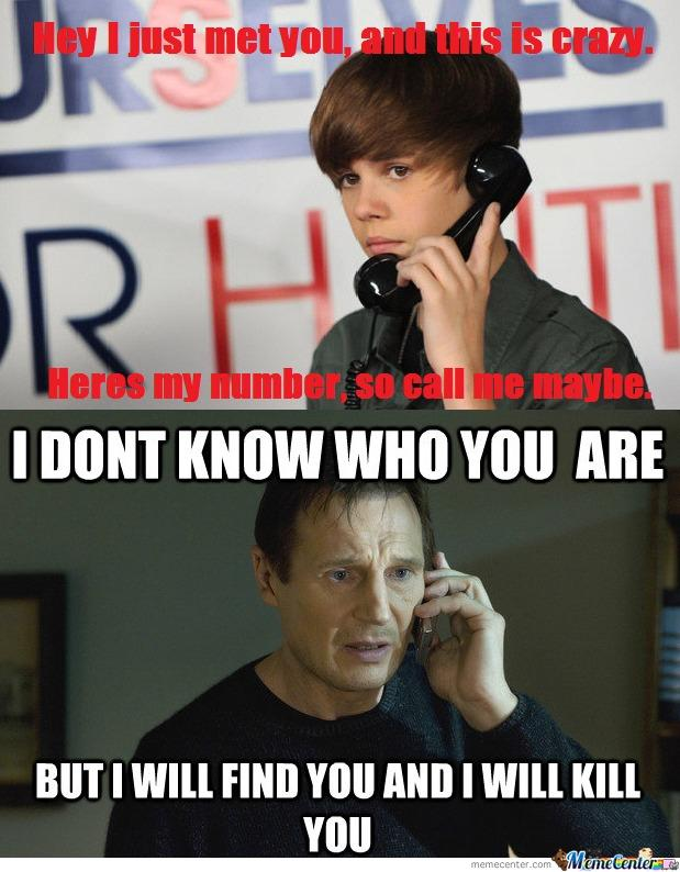 I Will Find You And I Will Kill You Know Your Meme