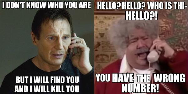 I Will Find You Meme