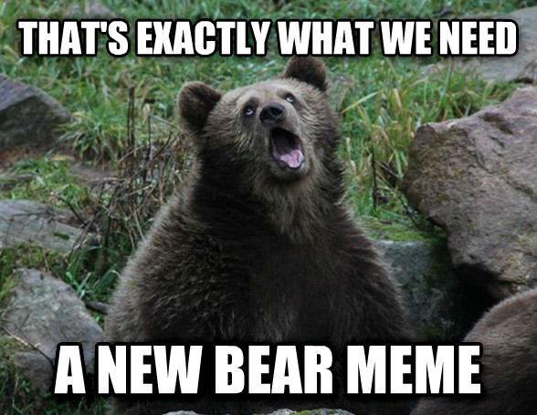 992 sarcastic bear know your meme