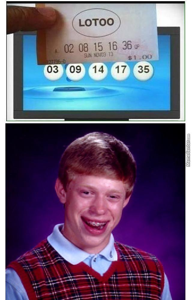 919 bad luck brian know your meme,Bad News Brian Meme