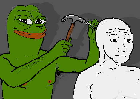 9cf pepe and feels smug frog know your meme,Know Your Meme Pepe
