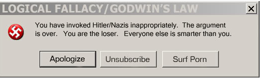 Image result for godwin's law