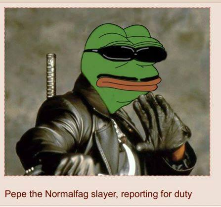 487 pepe the normalfag slayer, reporting for duty pepe the frog