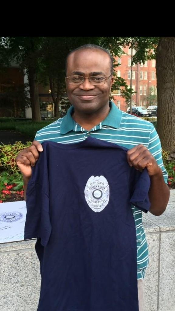 a5b martin baker at darren wilson support protest black guy on the