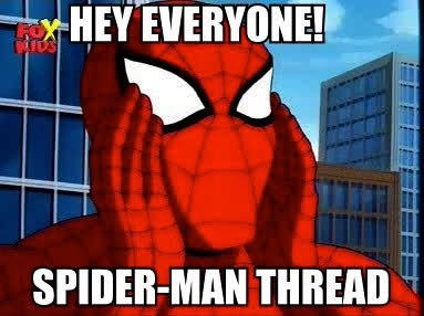 fe0 important announcement this is now a spiderman thread know,Important Announcement Meme