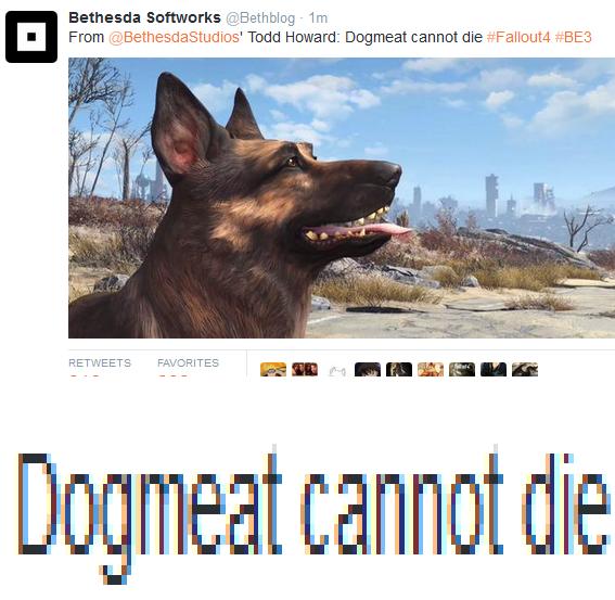 Fallout 4 Confirmed Meme