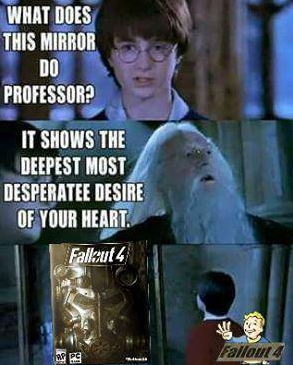 3d7 what daniel radcliffe really wants fallout know your meme
