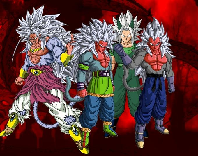Dragon Ball z Kai Goku Super Saiyan 1000 Games Super Saiyan 5 Has Also