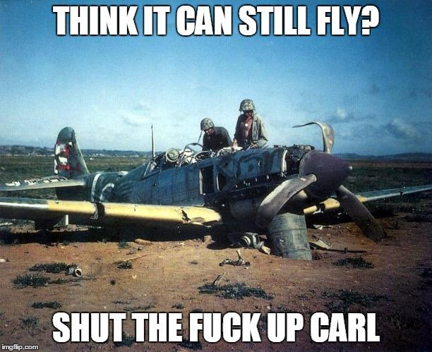 9fc shut the fuck up, carl image gallery know your meme