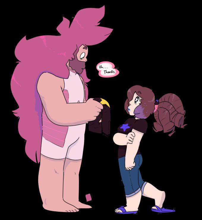 Rose Quartz Steven Universe Hair Template: Greg Quartz And Rose Universe