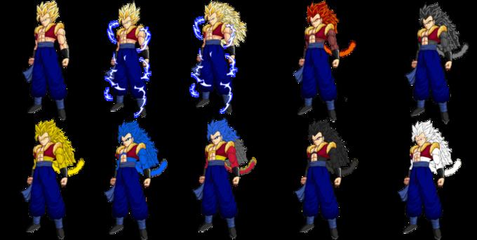 Goku 1 20super Saian Download: OC Super Saiyan Levels