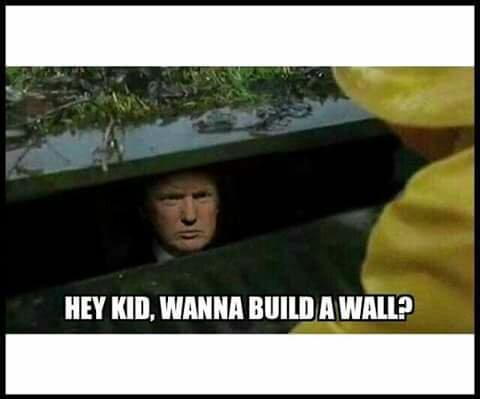 Funny Trump Wall Meme : O donald trump s wall know your meme