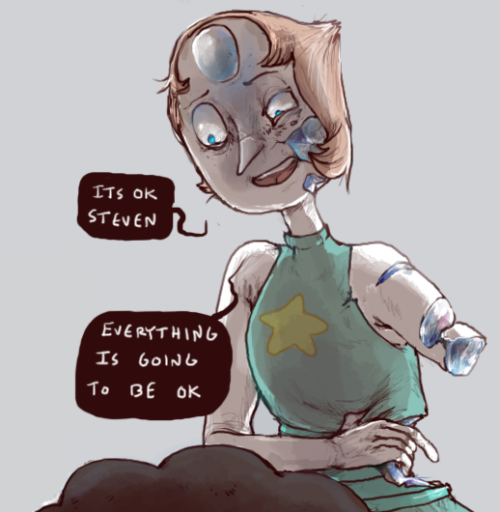 90e broken and beaten pearl by iguana mouth steven universe know