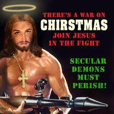 Buff Jesus | The War On Christmas | Know Your Meme