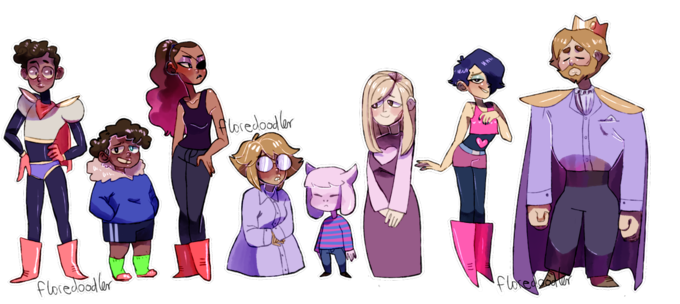 Overtale Characters Undertale Know Your Meme