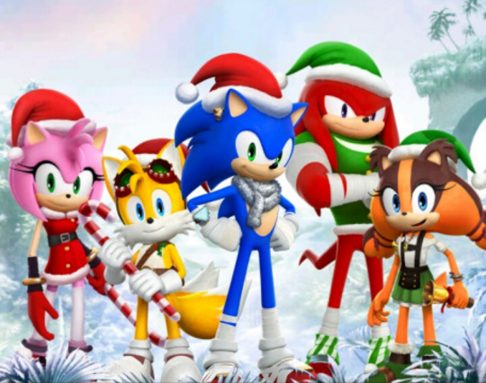 A Sonic Boom Christmas | Sonic the Hedgehog | Know Your Meme