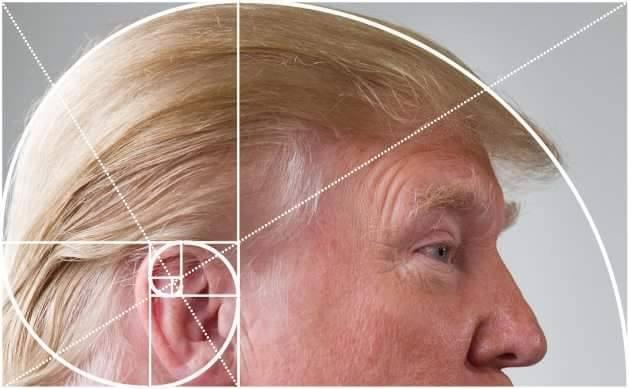 Trump golden spiral