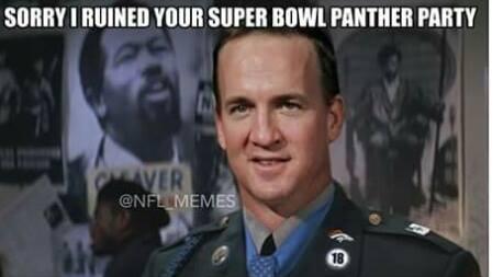2e3 panther party super bowl 50 know your meme