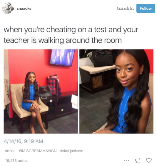 110 petty skai jackson skai jackson sitting know your meme,Get Down Off Cross Meme