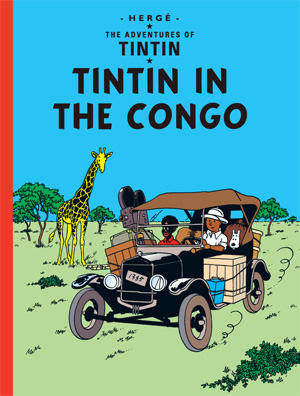 Tintin and the Congo cover page