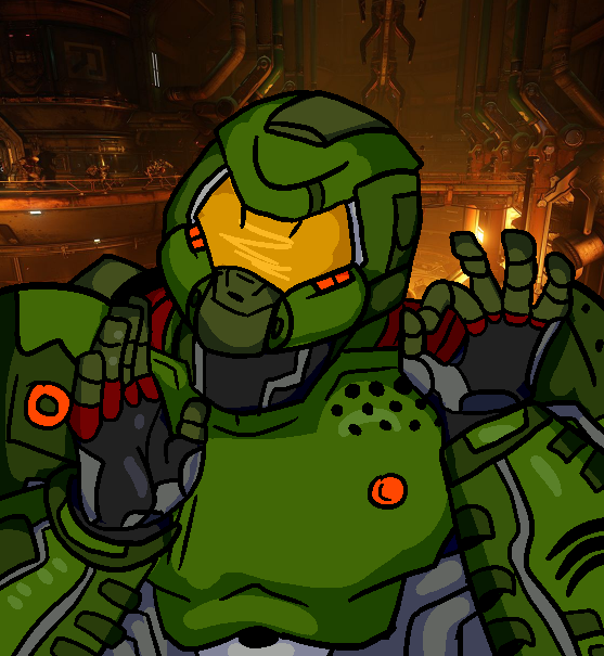 When You Rip And Tear Just Right Doom Know Your Meme