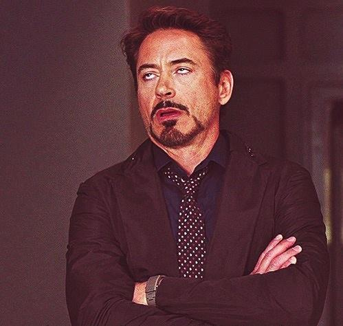 Image result for robert downey jr eye roll