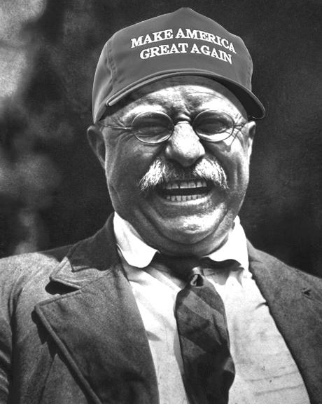 81d theodore roosevelt jr make america great again know your meme